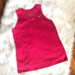 Pink Nike Tank Top Excellent Condition Size Large